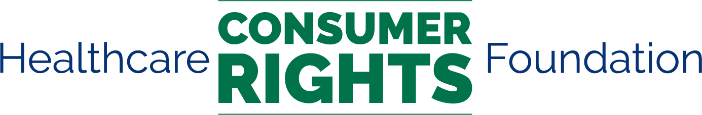 Healthcare consumer and logo